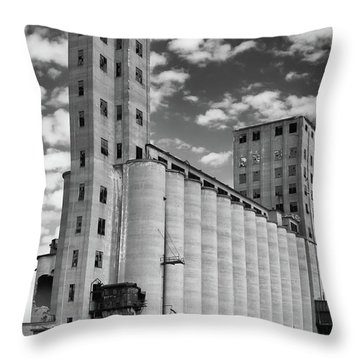 Abandoned 8910 Throw Pillow