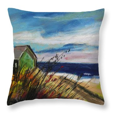 Abandoned Throw Pillow by John Williams