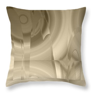 Abiss Throw Pillow