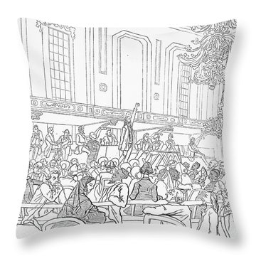 Abolition Cartoon, 1859 Throw Pillow by Granger