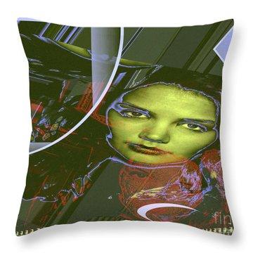 About Art Streetart Throw Pillow