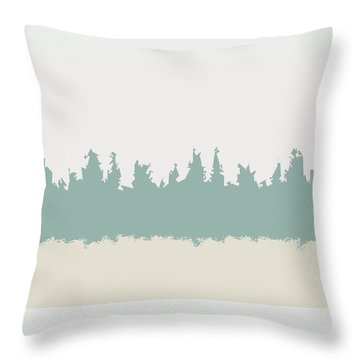 Throw Pillow featuring the digital art Above And Below by Jeff Iverson