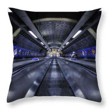Above The Below Throw Pillow