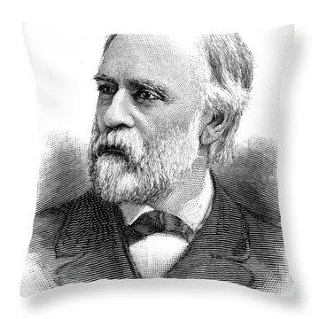 Abram Stevens Hewitt Throw Pillow by Granger
