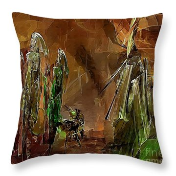 Abs 0191 Throw Pillow
