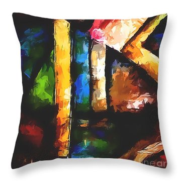 Abs 0266 Throw Pillow