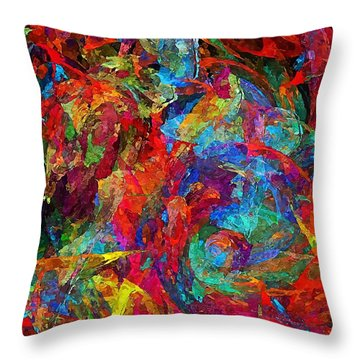 Abs 0321 Throw Pillow