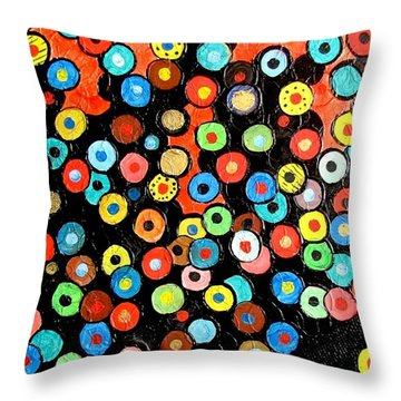 Abs 0462 Throw Pillow