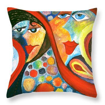 Abs 0470 Throw Pillow