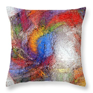 Abs 0607 Throw Pillow