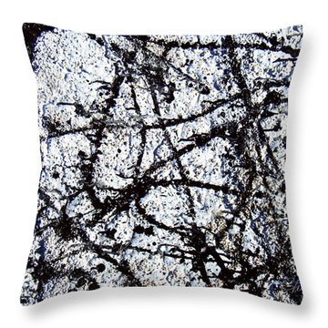 Abstact Hyper-reality Throw Pillow by Chriss Pagani