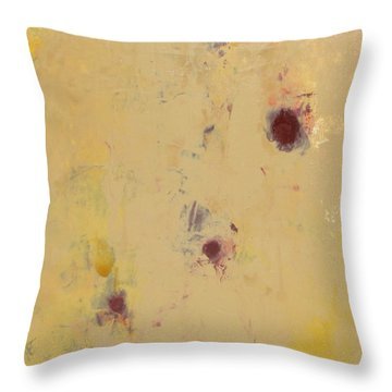 Abstract - Evolution Throw Pillow by Kathleen Grace