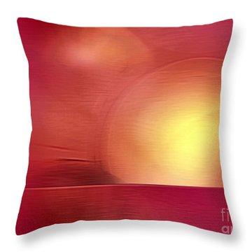 Abstract 11 Throw Pillow by John Krakora