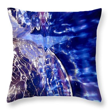 Abstract 2063 Throw Pillow by Stephanie Moore