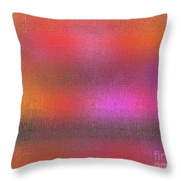 Abstract 245 Throw Pillow by John Krakora