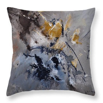 Abstract 5521502 Throw Pillow by Pol Ledent