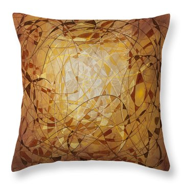 Abstract Art Eleven Throw Pillow
