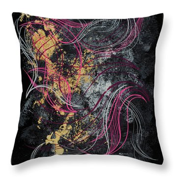 Abstract Feelings Throw Pillow