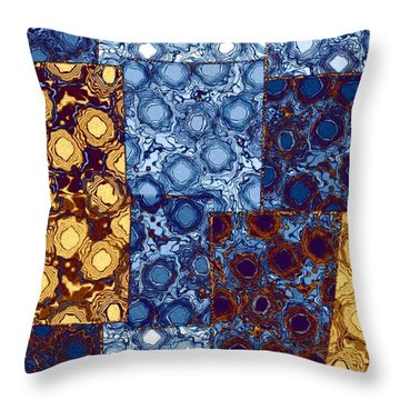 Abstract Fusion 10 Throw Pillow