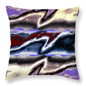 Abstract Fusion 101 Throw Pillow