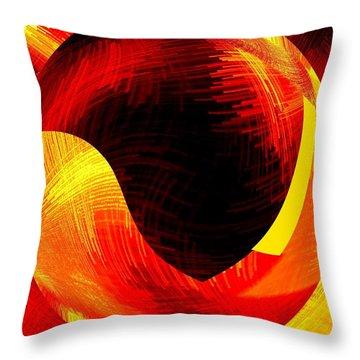 Abstract Fusion 40 Throw Pillow