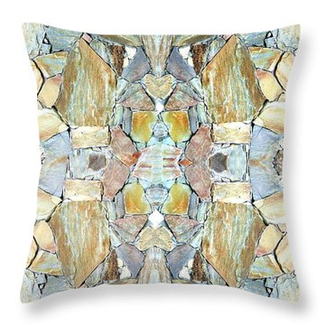 Abstract Fusion 67 Throw Pillow by Will Borden