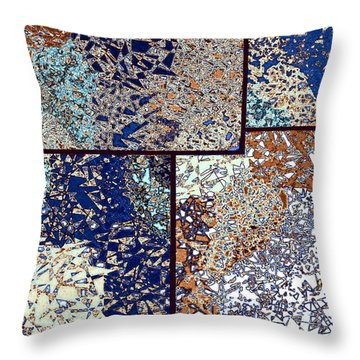 Abstract Fusion 95 Throw Pillow by Will Borden