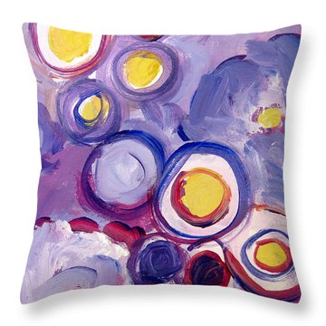 Abstract I Throw Pillow by Patricia Awapara