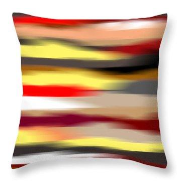 Abstract IIi Throw Pillow