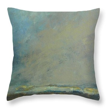 Abstract Landscape - Horizon Throw Pillow
