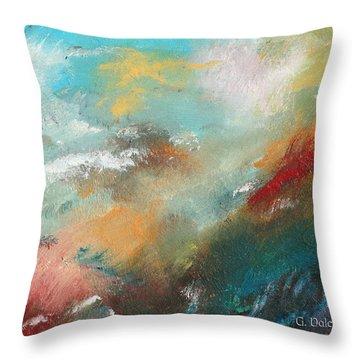 Abstract No 1 Throw Pillow