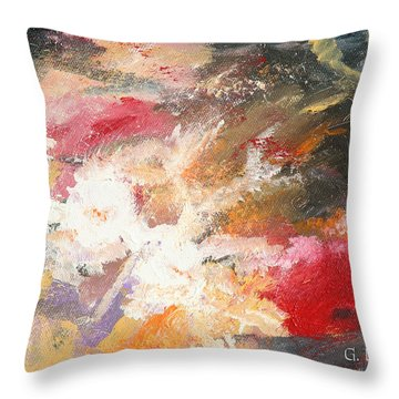 Abstract No 2 Throw Pillow