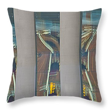 Abstract Reflection 34 Throw Pillow
