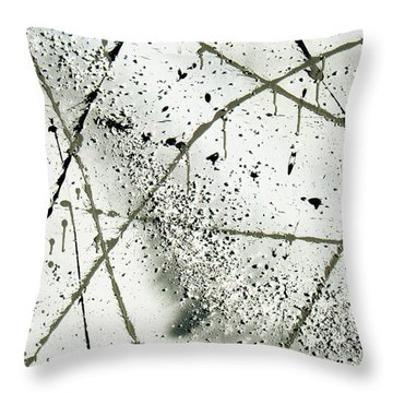 Abstract Remnants Of The Big Bang Throw Pillow by Chriss Pagani