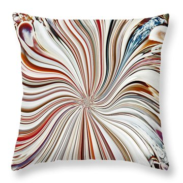 Abstract Seashells Throw Pillow by Aimee L Maher Photography and Art Visit ALMGallerydotcom