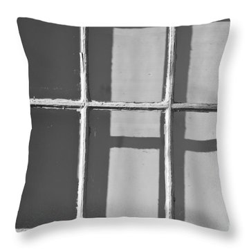 Abstract Window In Light And Shadow Throw Pillow