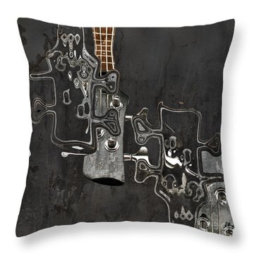 Abstrait En Do Majeur A2 Throw Pillow by Aimelle