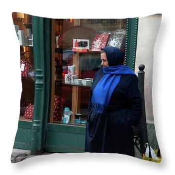 Abuela Throw Pillows Fine Art America