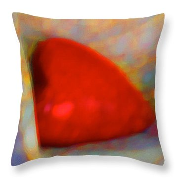 Throw Pillow featuring the digital art Abundant Love by Richard Laeton