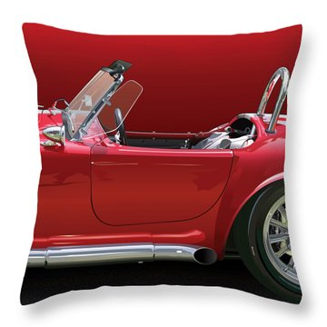 Ac Cobra Detail Throw Pillow