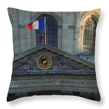Academie Francaise Throw Pillow by Brian Jannsen