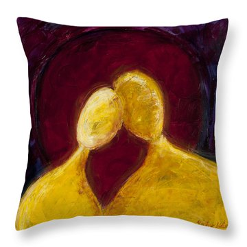 Accord Throw Pillow by Kristye Addison Dudley