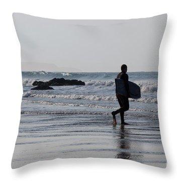 Acquaman Throw Pillow by Brian Roscorla