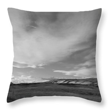 Throw Pillow featuring the photograph Across The Valley by Kathleen Grace