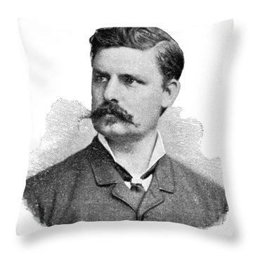 Adolf Eugen Fick, German Physiologist Throw Pillow by Science Source