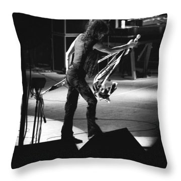 Aerosmith In Spokane 35 Throw Pillow