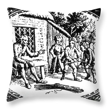 Aesop: Father & His Sons Throw Pillow by Granger