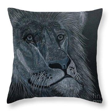 African King Throw Pillow