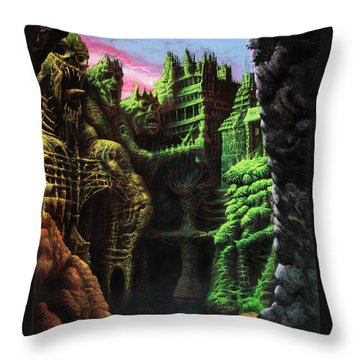 After A Long Silence Throw Pillow by Tony Hough