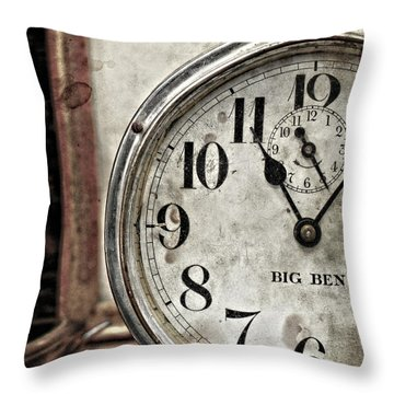 After Eleven  Throw Pillow by Jerry Cordeiro